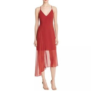 Keepsake Asymmetric Slip Dress